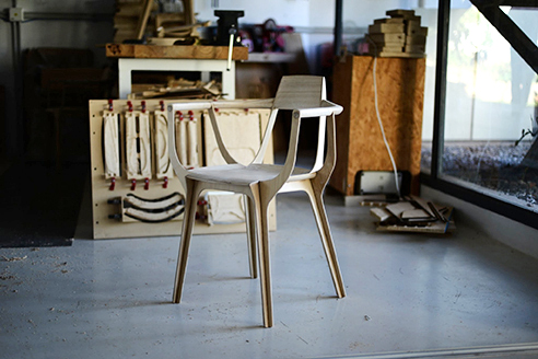 Eutopía: la silla de Francisco Gómez Paz se fabrica en Argentina y es un ejemplo de Arquitectura 4.0