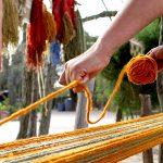 Las alfombras de Elementos Argentinos se tejen en el norte del país