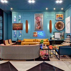 Piloni Arquitectura: en honor a la estética hollywoodense de los años '30.