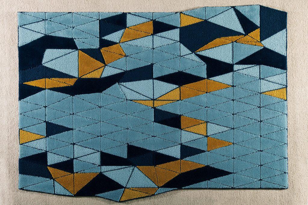 Carpetas tejidas a mano y diseñadas por Cristian Mohahed