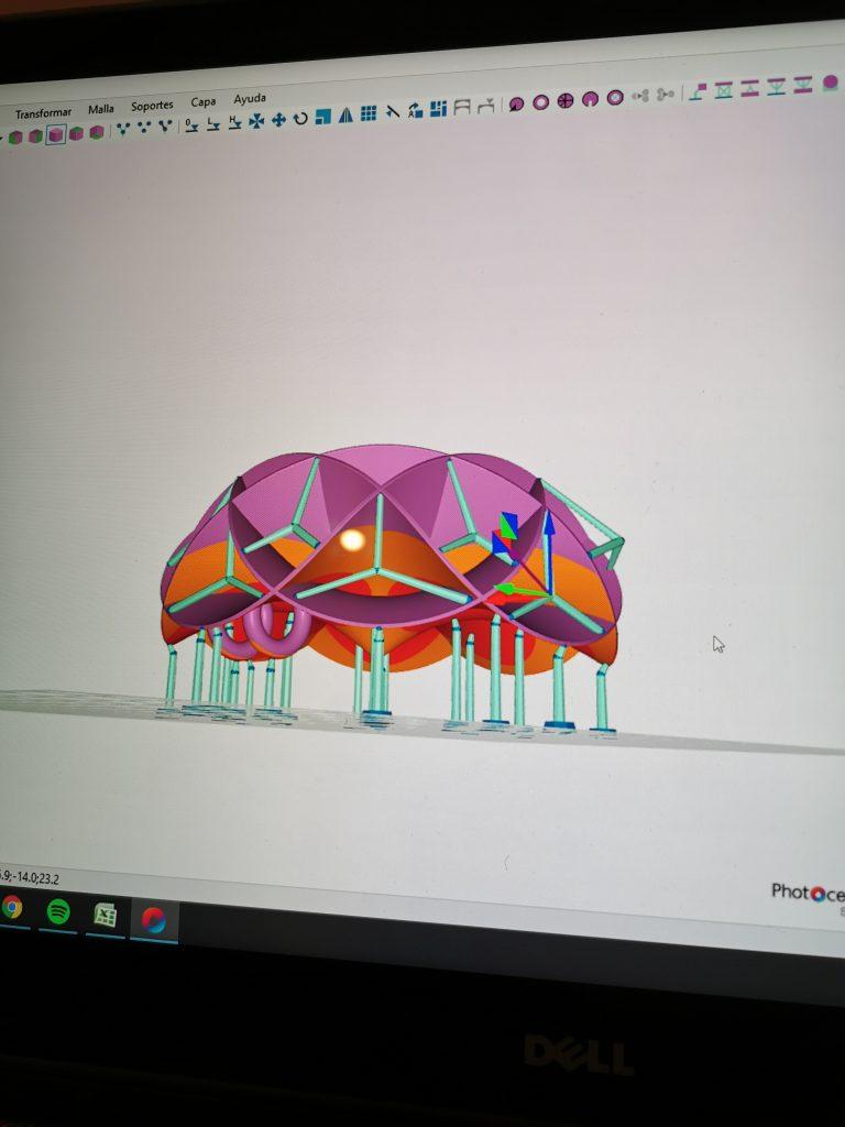 El diseño 3 D permite un nivel de detalle fenomenal