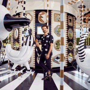 Jaime Hayon en el Carousel para Swarovski