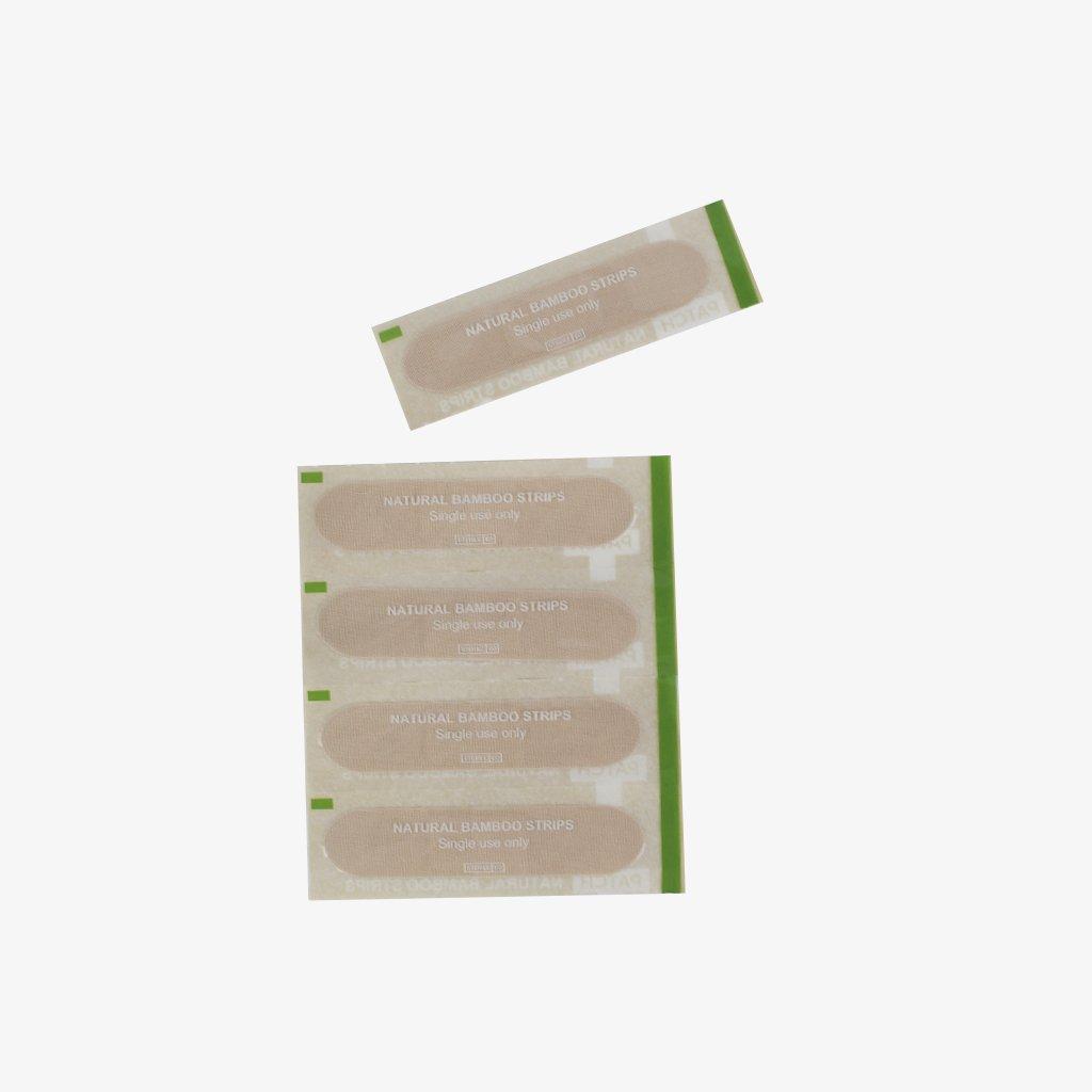 Curitas hechas con fibras de bambú