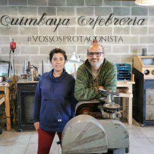Juan Manuel Romero y Marcela Acrich: al frente de Quimbaya Orfebrería