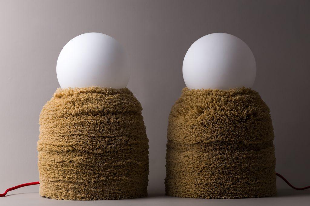La colección Ninho, de Cristian Mohahed, está hecha en base a bordes desechados de carpetas y alfombras