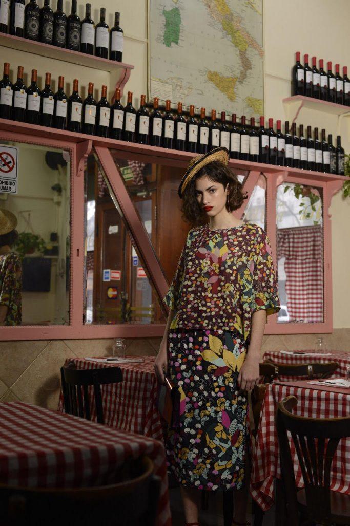 Las estampas son un distintivo en las colecciones de Mariana Dappiano.