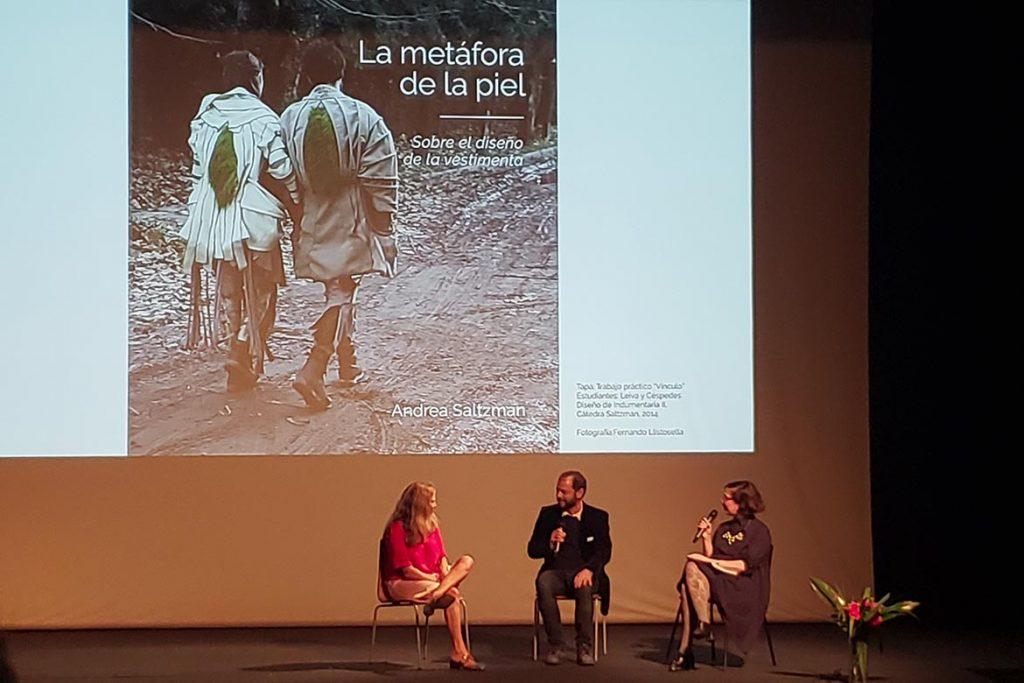 Saltzman, Churba y Maurello dialogaron en el MALBA.