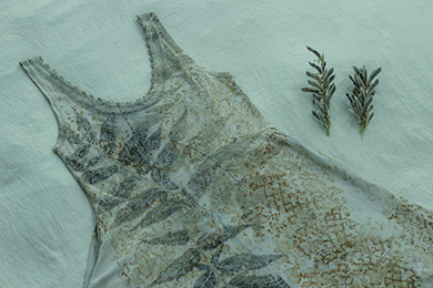 Vestido de algodón de OhRadal