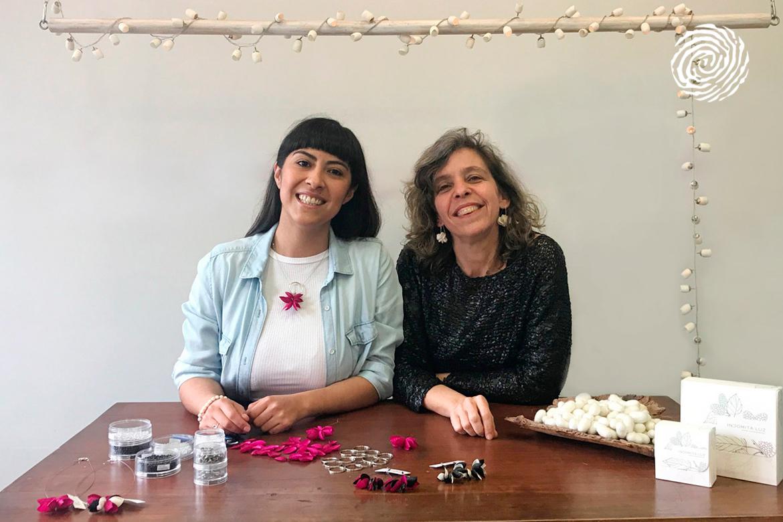 Gisela Martínez y Marcia Helman, al frente de Indómita Luz