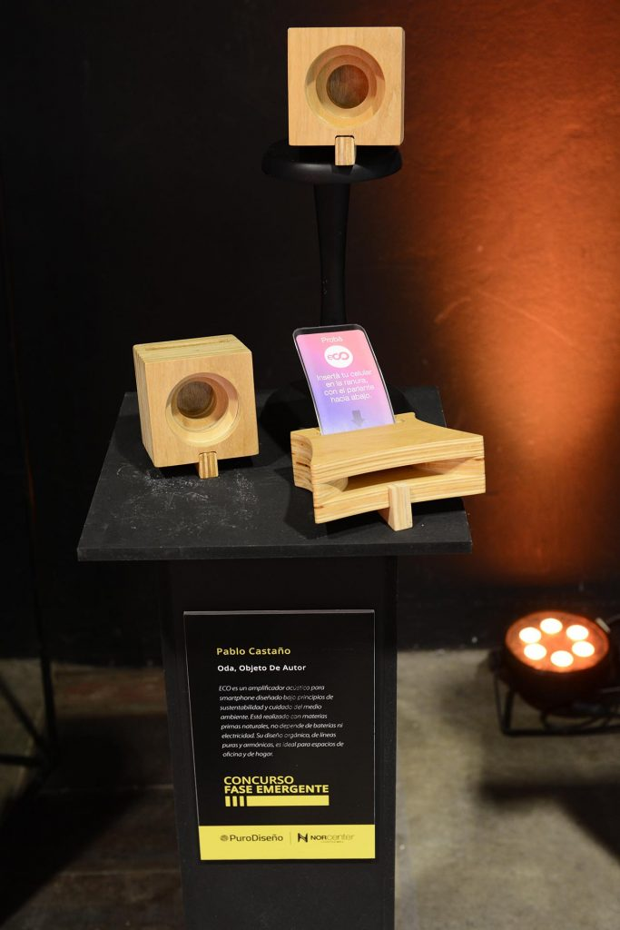 Amplificador para smartphones hecho por Pablo Castaño