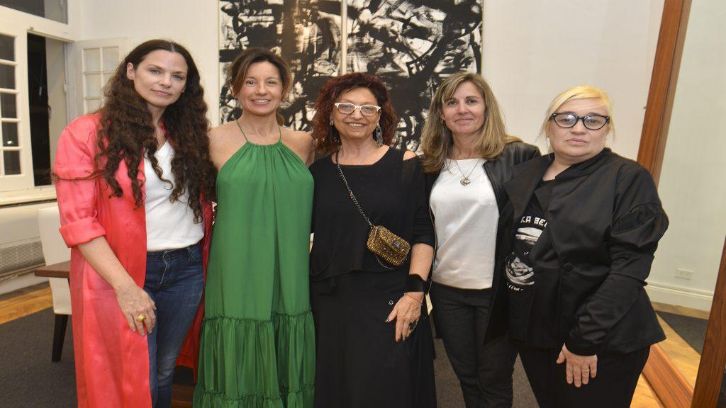 Luisa Norbis, Pia Fradusco, Mónica Cohen, Valeria Polacsek y Vero Ivaldi