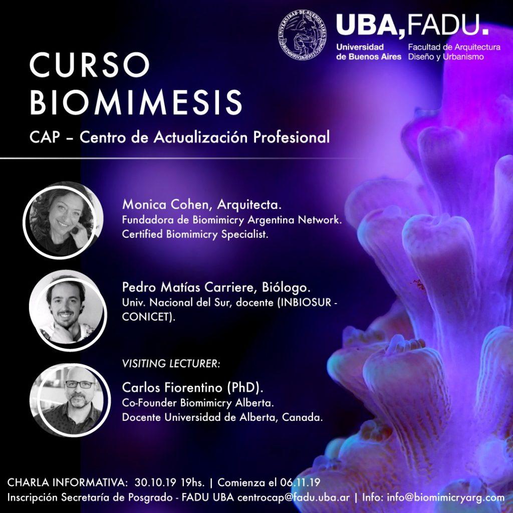 CAP de Biomímesis en FADU