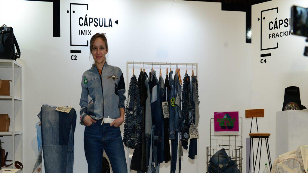 La diseñadora Erica Vega