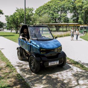 Astor, el primer auto eléctrico de la Argentina