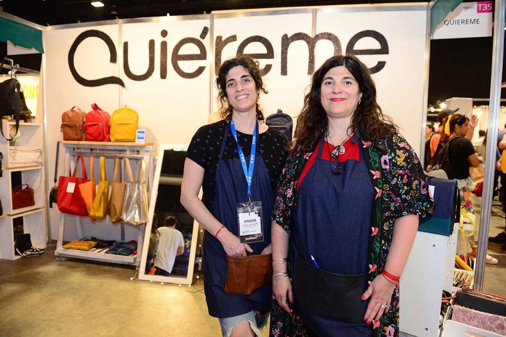 Mariana y Valeria Fissore, de Quiéreme Cueros