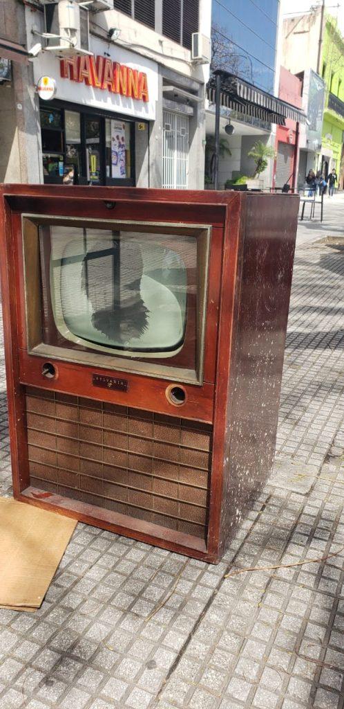 Un modelo de los '50 listo para restaurar