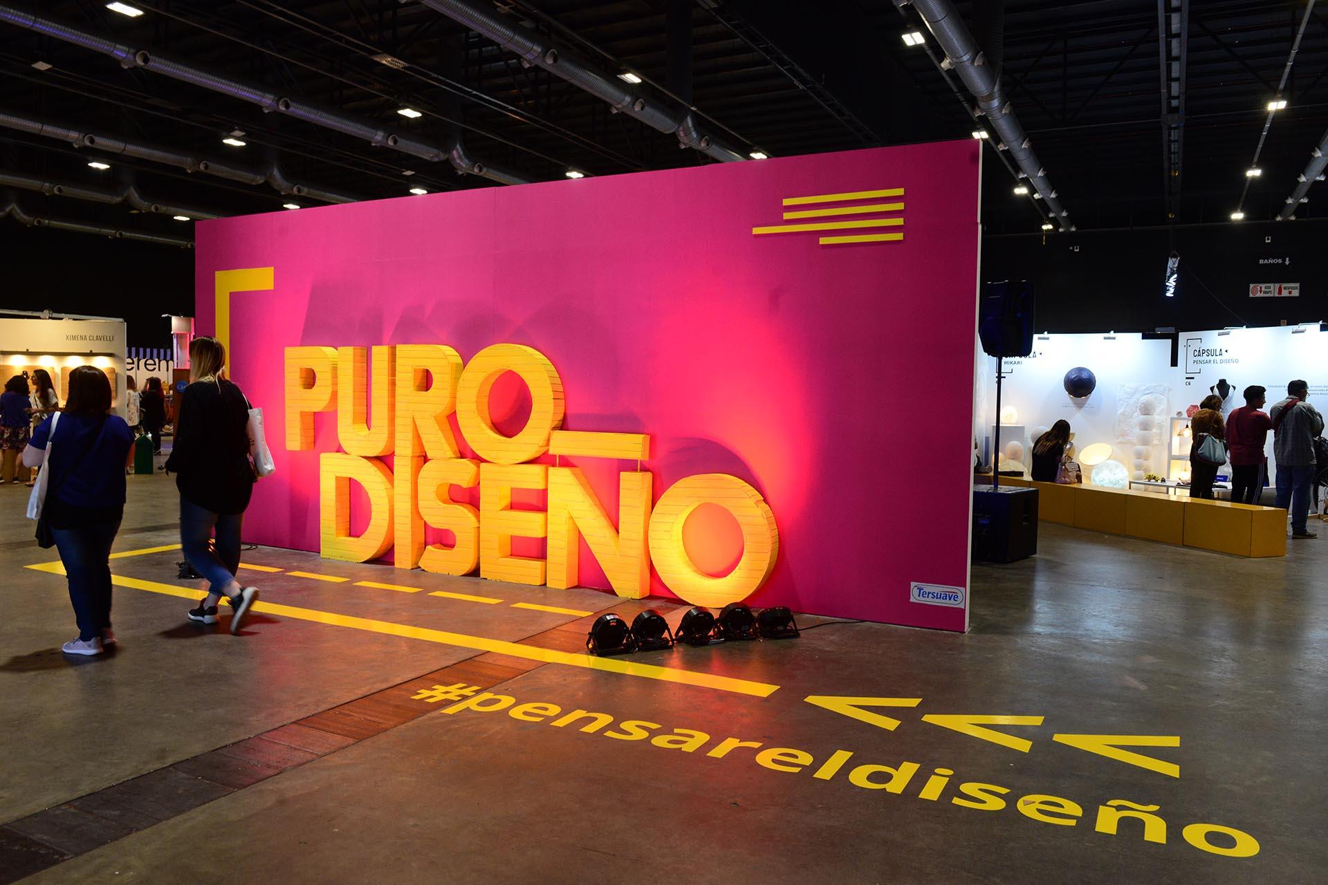 Colores vibrantes by Tersuave en la entrada de PuroDiseño 2019.