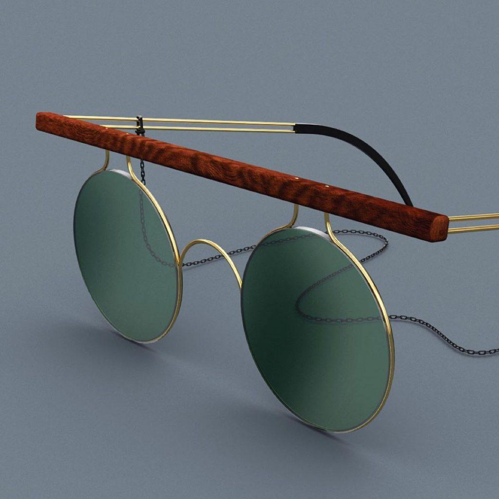 Manex Bilbao, lentes con diseño