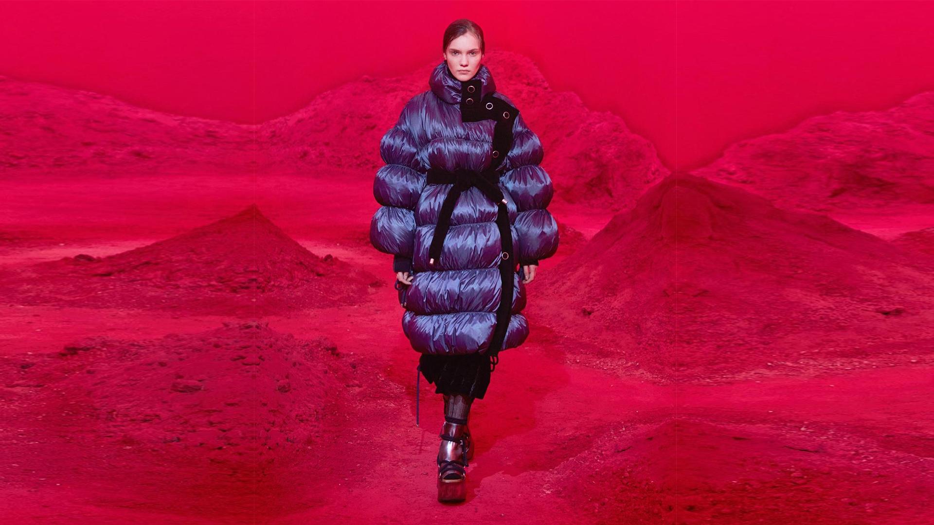 Moncler por ocho diseñadores. Semana de la moda en Milán