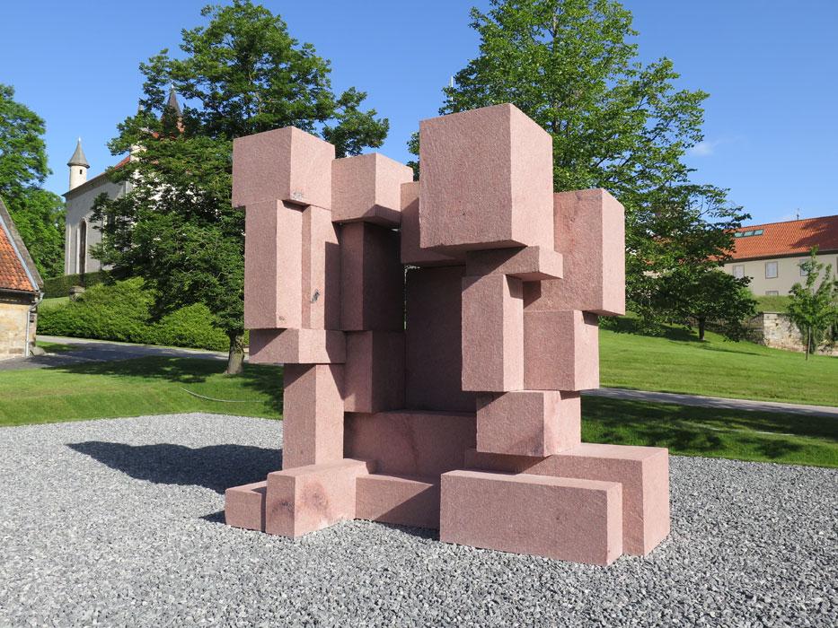 Block, del artista británico Antony Block