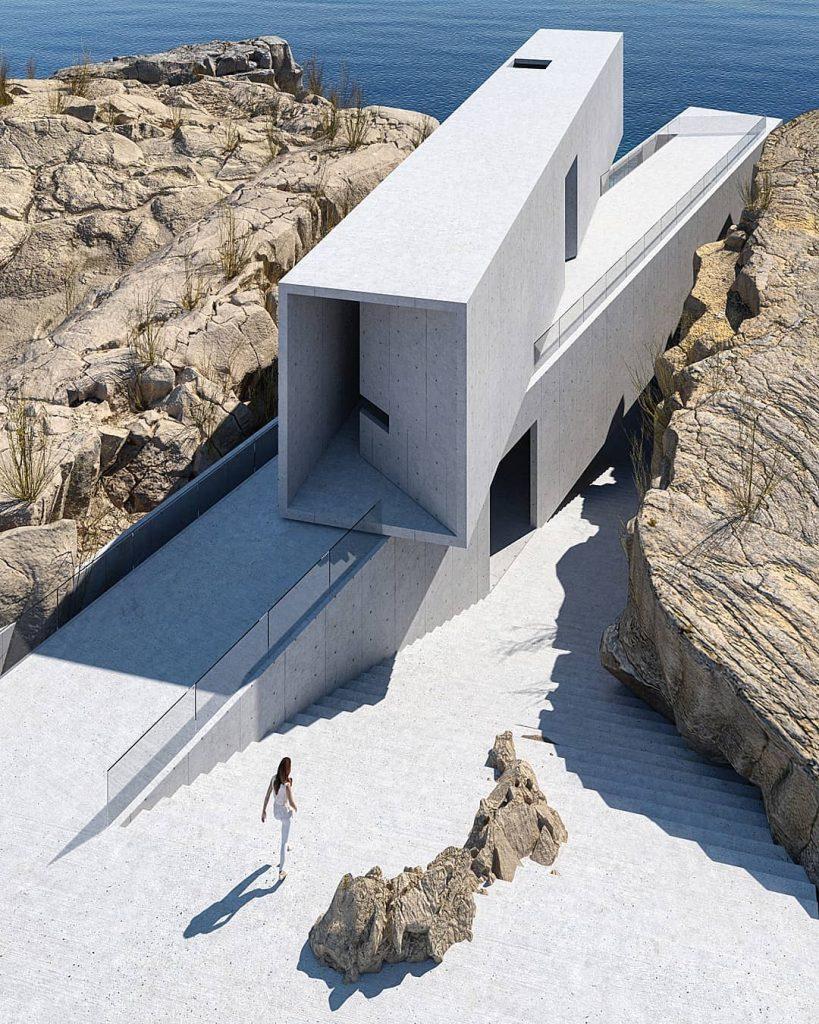 Arquitectura en las rocas de Arabia Saudita
