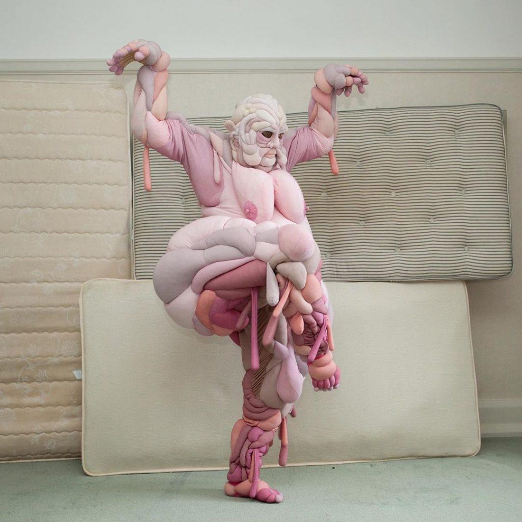 Daisy Collingride: las bailarinas de la artista que creó para Björk. Experimentación textil