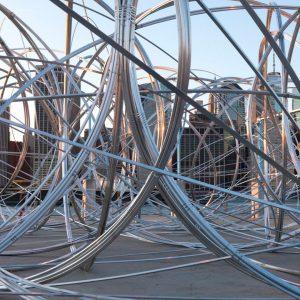 La instalación en Nueva York de Antony Gormley