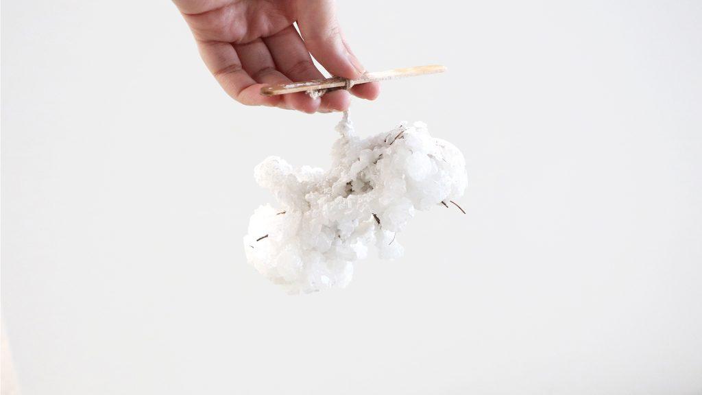 Sal cristalizada: más ecológica y tan resistente como el hormigón