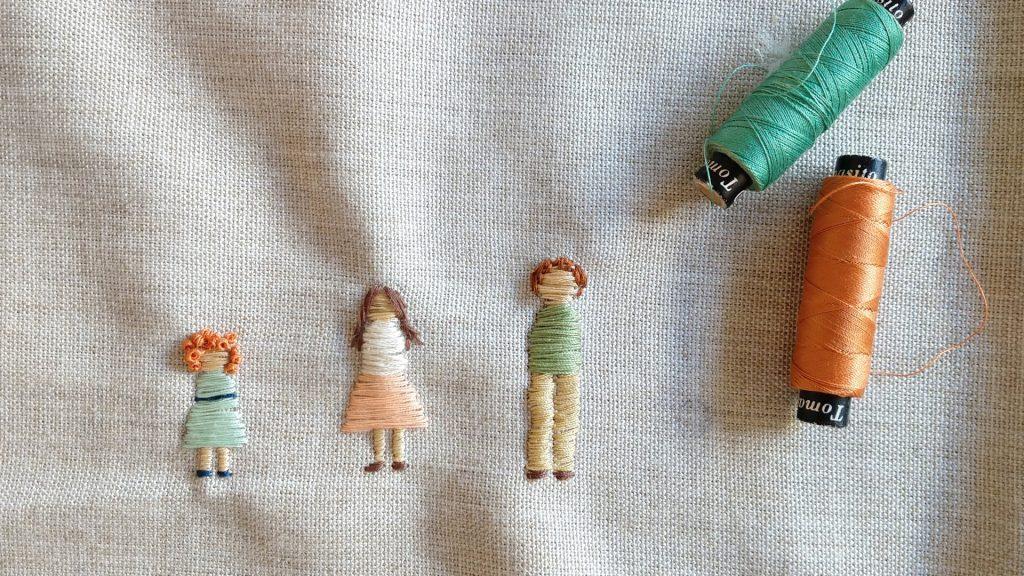 En Tienda Rosaura, las amigas Agustina Giorgio y Francisca Hollmann crean objetos de tela para grandes y chicos