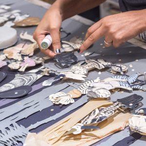 Lucila Biscione: arte en papel calado