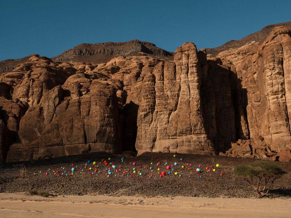 Arte en el desierto