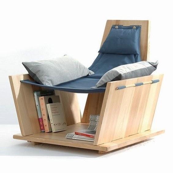 Biblioteca con diseño