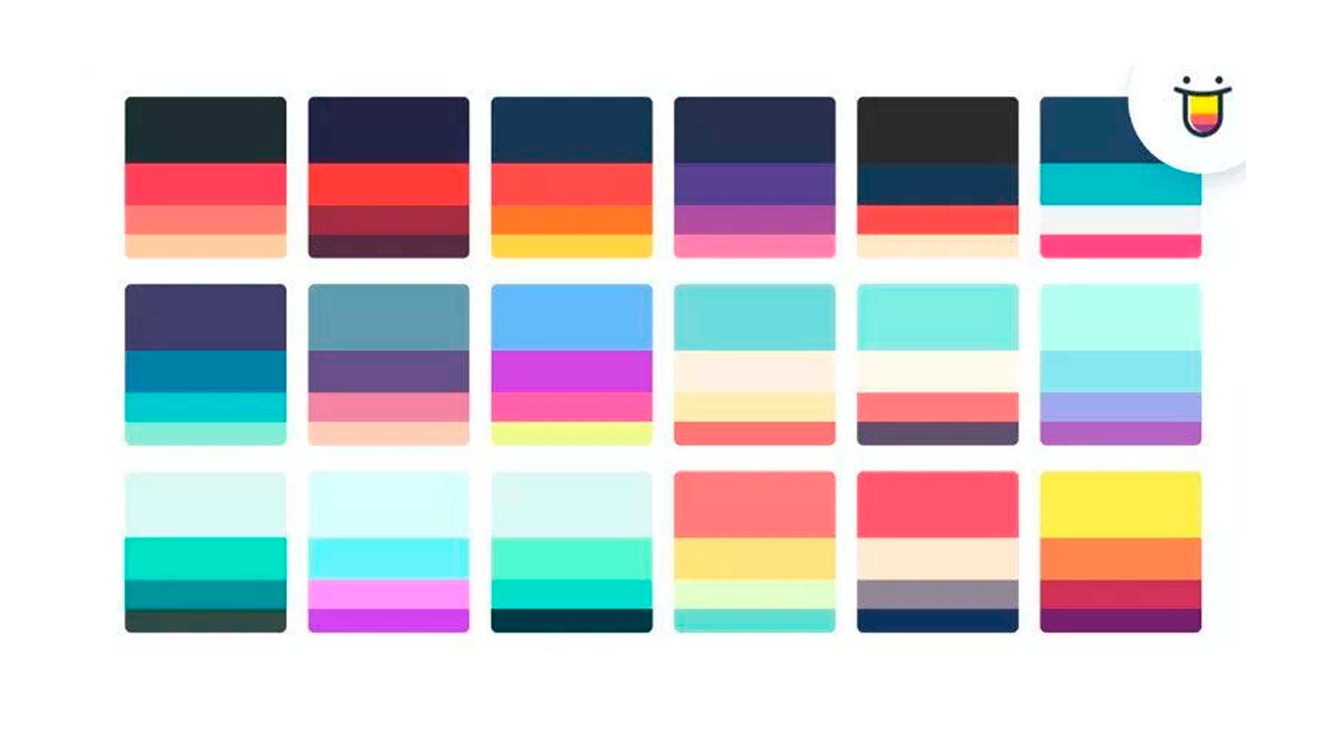 Como armar paletas de colores