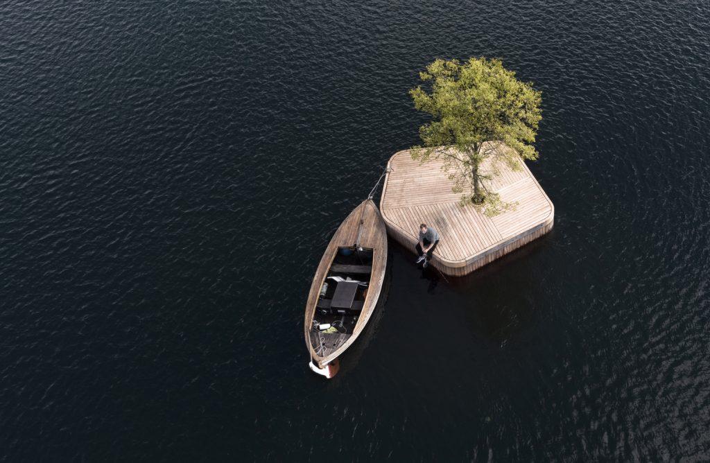 Islas flotantes