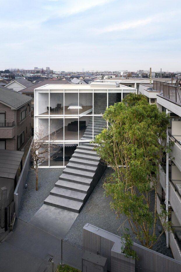 La casa de la escalera