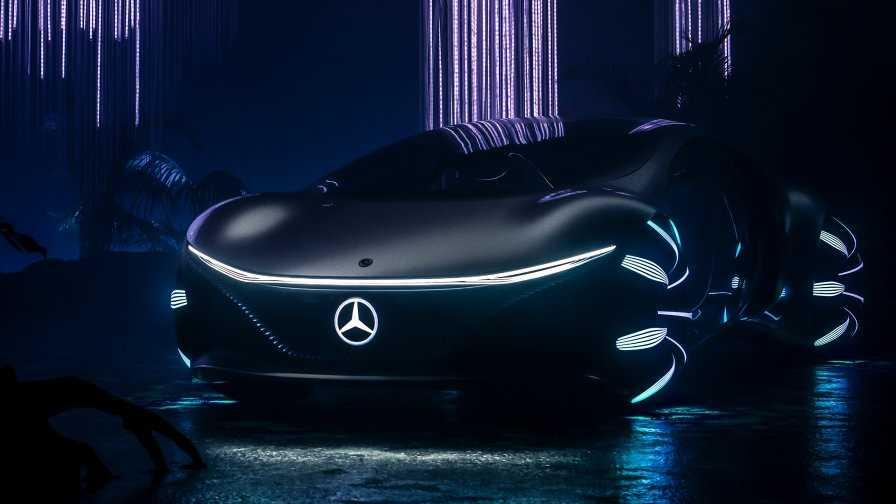 Mercedez Benz. El auto inspirado en Avatar