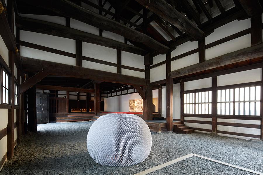 Una casa de té de papel. Origami