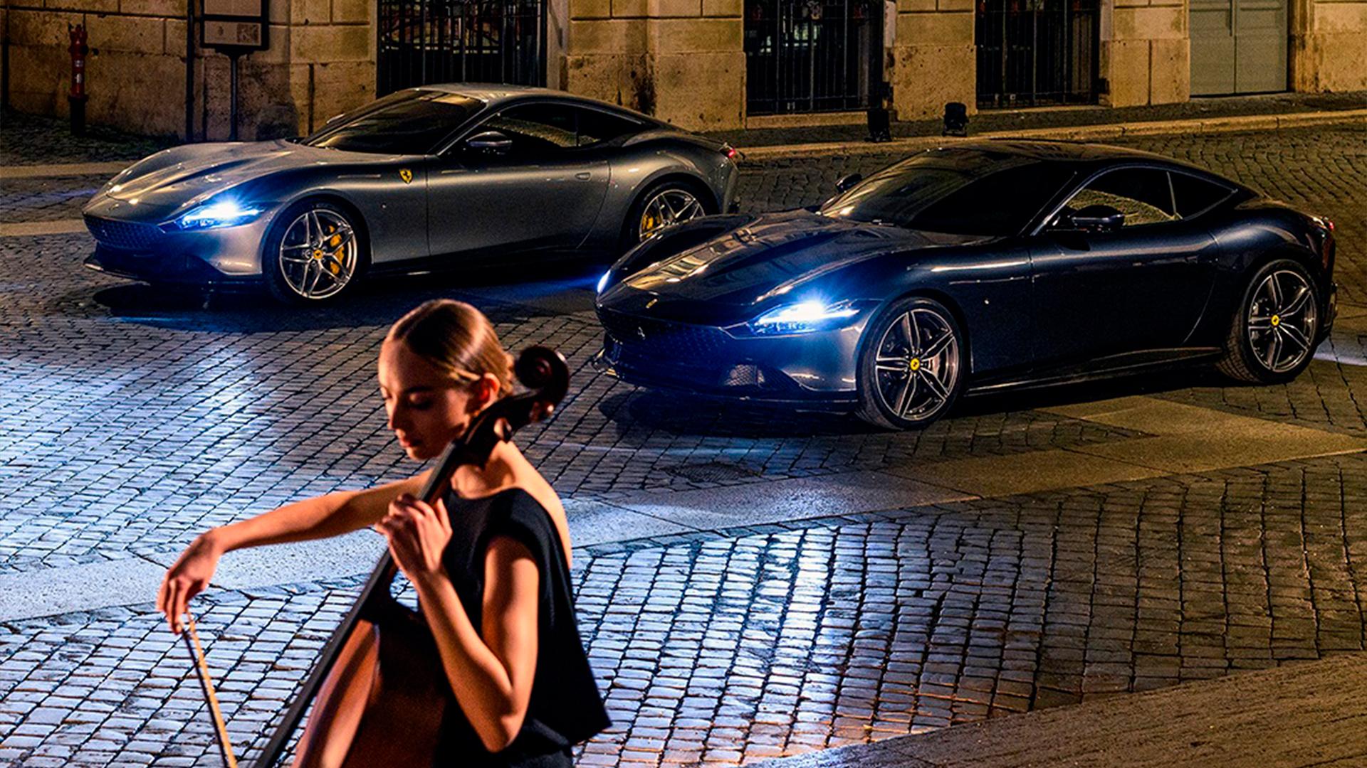Ferrari se inspira en Roma