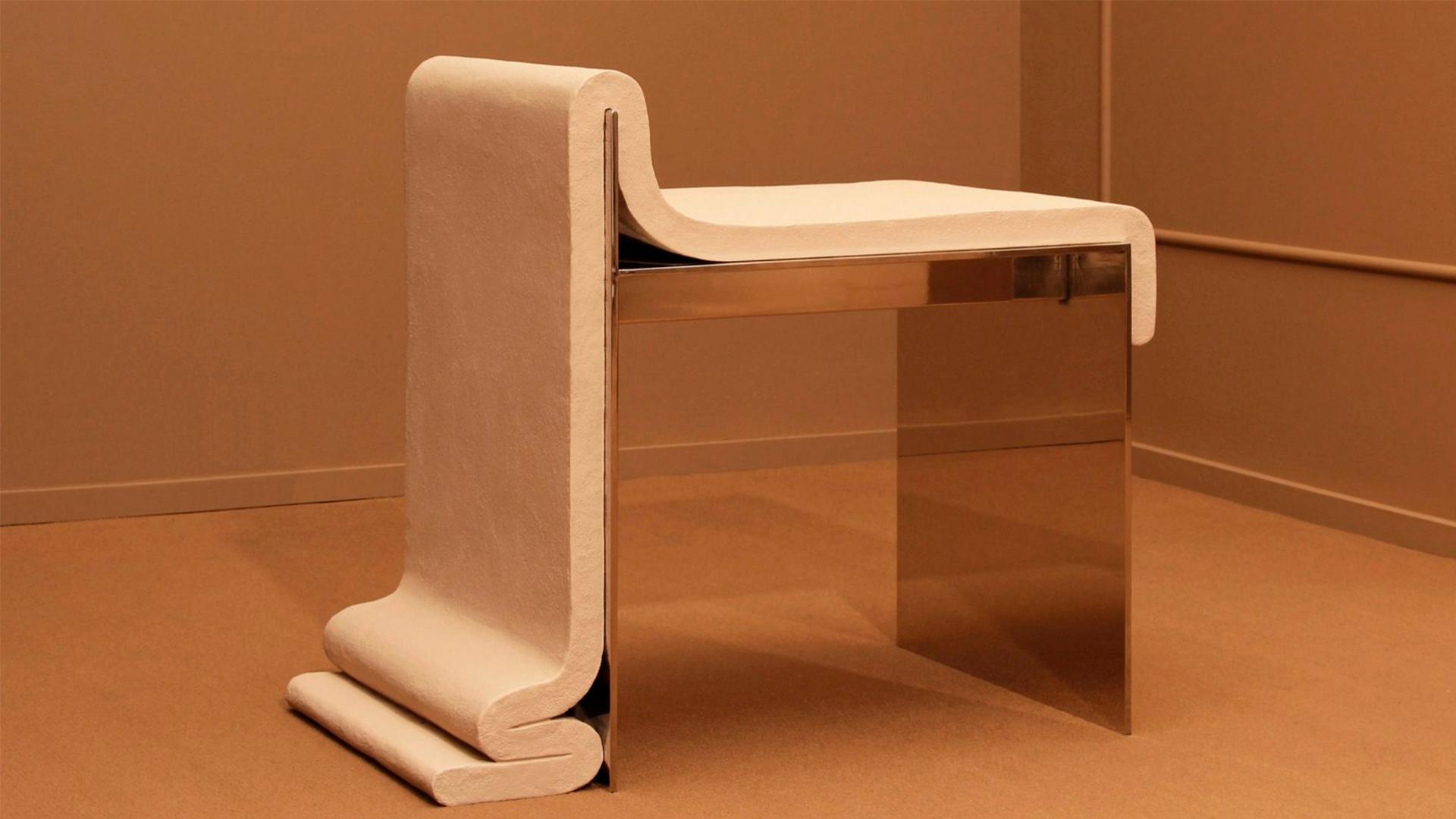 silla de concreto