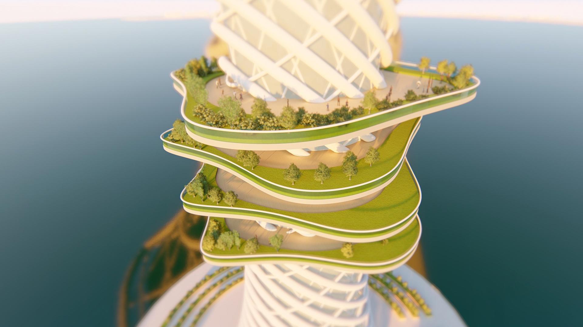 Arquitectura en el agua. En India