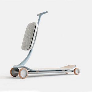 El nuevo scooter plegable.