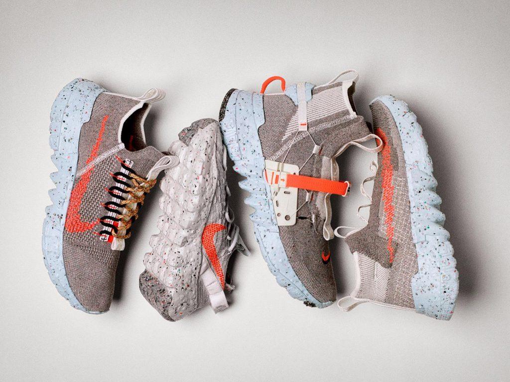 zapatillas sustentables. Nike. Space Hippie