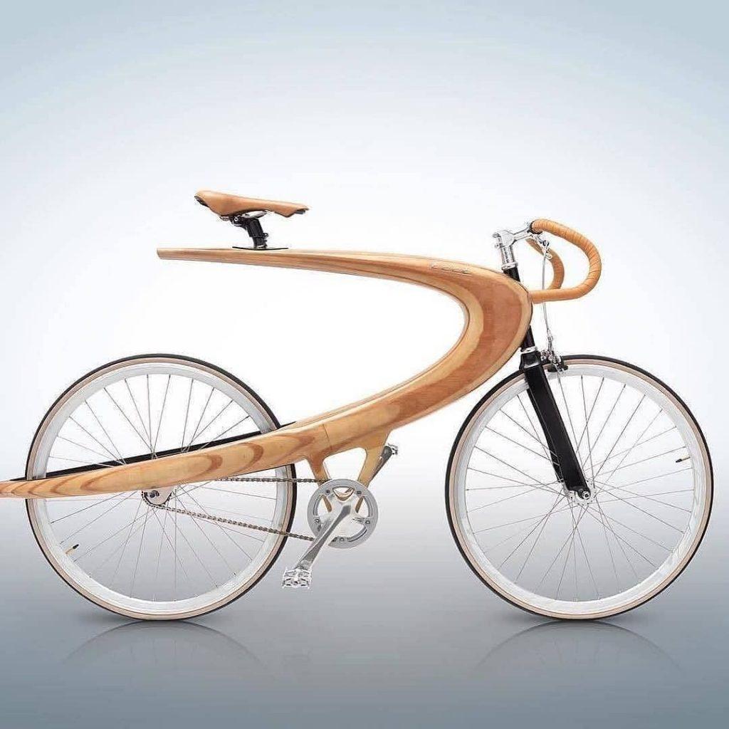 Bicicletas con diseño. Opus Wood