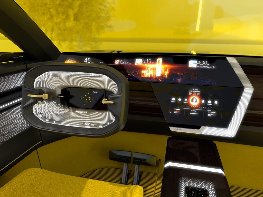 El auto que cambia de forma. Renault
