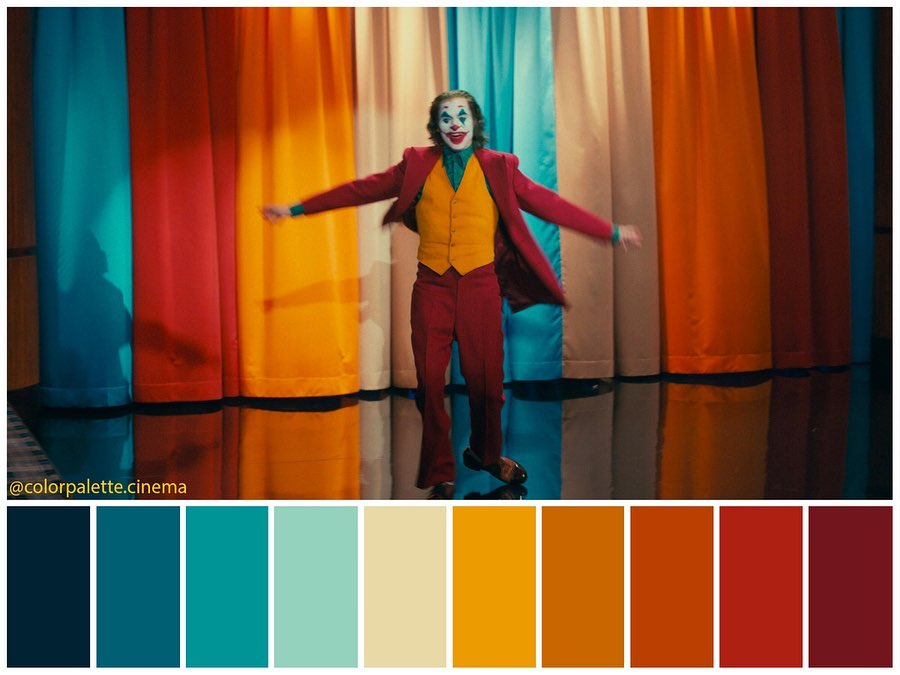 Jokey. Color Palette