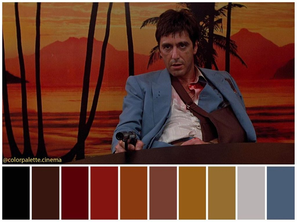 Scarface. Color Palette