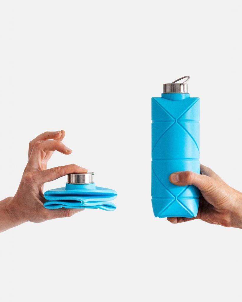 Botellita sustentable. Origami