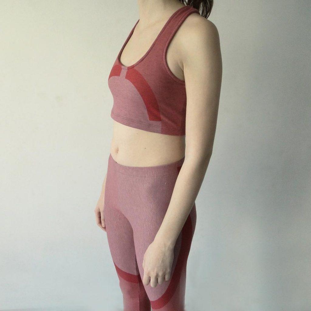 Florencia Fiocca. Ropa para hacer yoga
