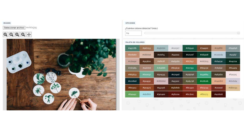 Herramientas y recursos para emprendedores. Colores