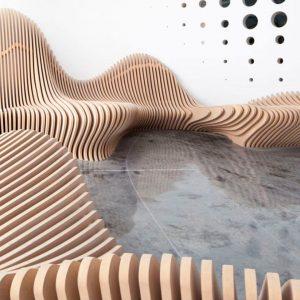 Madera Paramétrica. Diseño 3 D